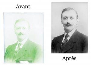 numérisation, restauration, photo, ancienne, qualité, HD, Numérisation, restoration de photo ancienne